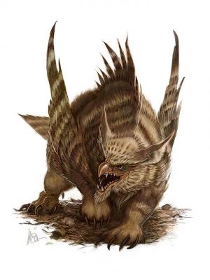 Совомедведь. Иллюстрация Уильяма О'Коннора