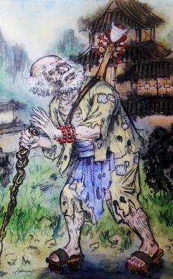 О-дзато. Иллюстрация Хуаши Хао Юань