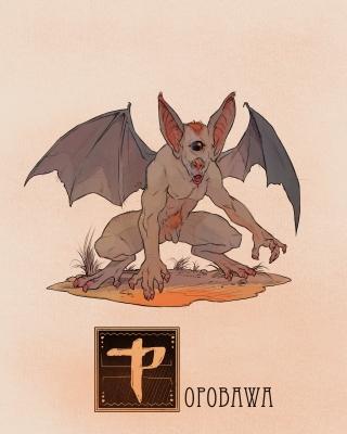 "Попобава. Иллюстрация Натана Андерсона (Nathan J. Anderson, ""Deimos-Remus"")"