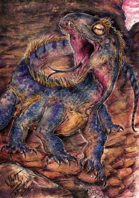 Воуви. Иллюстрация Кейтара Вольфура