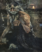 """Пан"". Картина М.А.Врубеля (1899)"