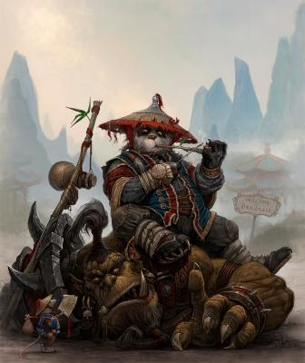 Пандария. Иллюстрация Лео Хао