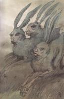 Panny zające (Панны-зайцы). Иллюстрация Павла Зыха (Paweł Zych)