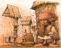 Пасечник. Рисунок Павла Зыха (Paweł Zych)