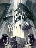 Феникс. Иллюстрация О.Лагодиной