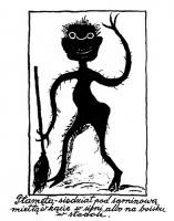 Пятнота (Płamęta). Иллюстрация Марии Козловой