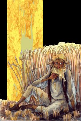 Полевик. Иллюстрация Лидии Магоновой (Ink-Yami)