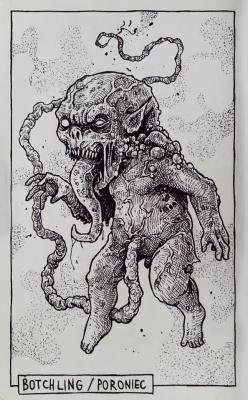 Поронец. Иллюстрация Дарека Кшака (DK13Design)