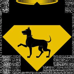 Адская собака Дип на гербе каталонского муниципалитета Пратдип
