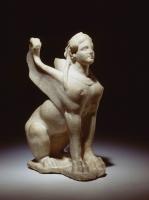 Египетская скульптура сфинкса из Немецкого национального музея