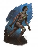 Зомби-изитфунтела. Иллюстрация Мишеля Робсона