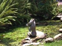Статуя русалки в Монтего-Бей (Ямайка)