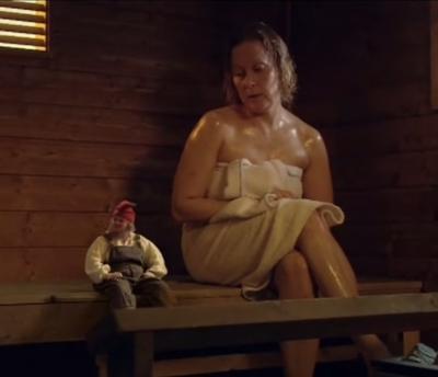 Саунатонтту, хозяин бани. Финская короткометражка