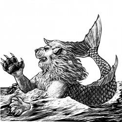 Морской лев. Иллюстрация Мерли Инсинга