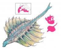 """Серра. Иллюстрация с сайта """"A Book of Creatures"""""""