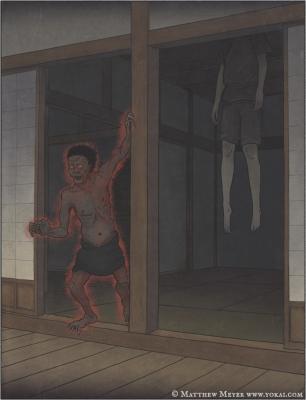 Синигами. Иллюстрация Мэтью Мэйера