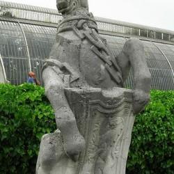Шотландский единорог. Скульптурное изображение.
