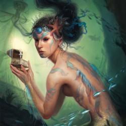 Сирена. Иллюстрация Линдси Лук