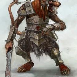 Скавен из мира Warhammer. Концепт-арт