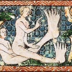 Скиаподы. Иллюстрация из фландрской рукописи, около 1350 года