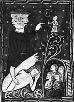 Скиапод в иллюстрации рукописи библиотеки Вестминстерского аббатства