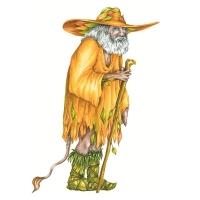"""Скоге-мужчина из книги """"Загадочные существа"""""""