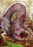 Скулекс (индский червь). Иллюстрация Кейтара Вольфура
