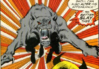 Сколль из марвеловских комиксов про Тора