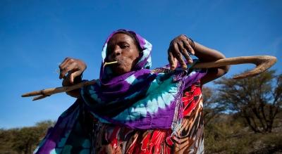 Сомалийская кочевница. Фото Эрика Лафога