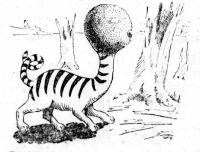 Кот-расщепенец. Иллюстрация Арта Чайлдза, 1922