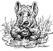 Сквонк. Иллюстрация Брюса Ван Паттера