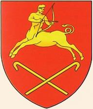 Гиппоцентавр на гербе города Старые Дороги (Беларусь)