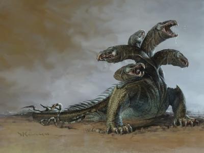 Гидра. Иллюстрация Стефана Копинского