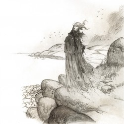 Страндваскаре. Рисунок Юхана Эгеркранса