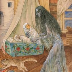 Стрига. Иллюстрация Валерия Славука