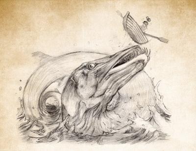 Стуршёудьюрет. Иллюстрация Кристофера Гюстафссона