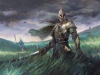 Эльф-мечник (Sunblade Elf). Иллюстрация Лукаса Грациано