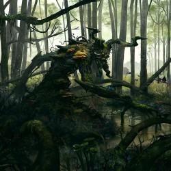 Swamp Elder 1. Иллюстрация Алекса Негриа (Alex Negrea)