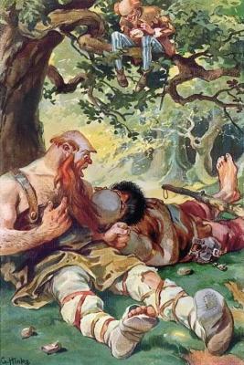 Храбрый портняжка и спящие великаны. Иллюстрация Г.Хинке к сказке братьев Гримм