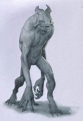 Тролль. Иллюстрация Анастасиоса Гиониса