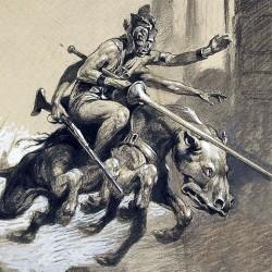 Тарк на иллюстрации Фрэнка Шуновера (1920)