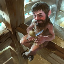 Брауни. Иллюстрация Андрея Селезнева (dron111)