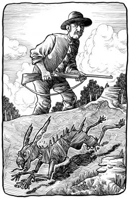 Молочный заяц. Иллюстрация Ричарда Свенссона