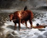 Торгейров бычок. Иллюстрация Трандура Тораринссона (Þrándur Þórarinsson)