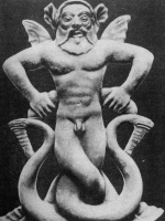 Тифон. Терракота. Около 500 года до н.э.