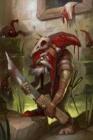 Гоблин Красная Шапка. Иллюстрация Антона Яковлева (Tony Sart)