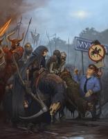 Real evil. Иллюстрация Антона Яковлева (Tony Sart)