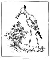 """Триподеро. Иллюстрация Маргарет Рэмси Трайон из книги """"Устрашающие твари"""" (1939)"""