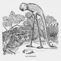 """Триподеро. Иллюстрация Кёр Дю Буа из книги """"Устрашающие твари промысловых лесов"""" (1910)"""