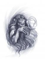Махаха. Рисунок Майка Остина